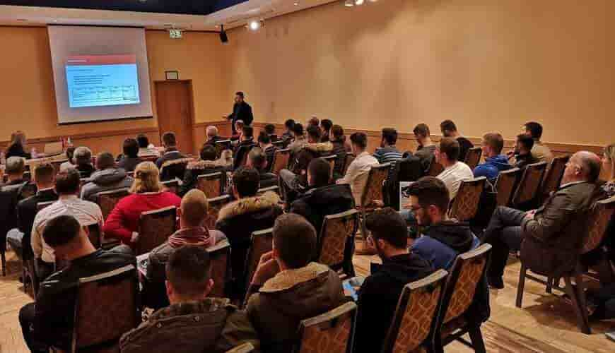 convegno di saldatura a Tirana sulla Marcatura CE