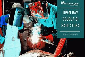 Open Day Scuola di Saldatura Michelangelo Napoli Settembre 2019